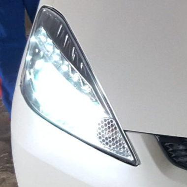 тюнинг оптики Хонда фит